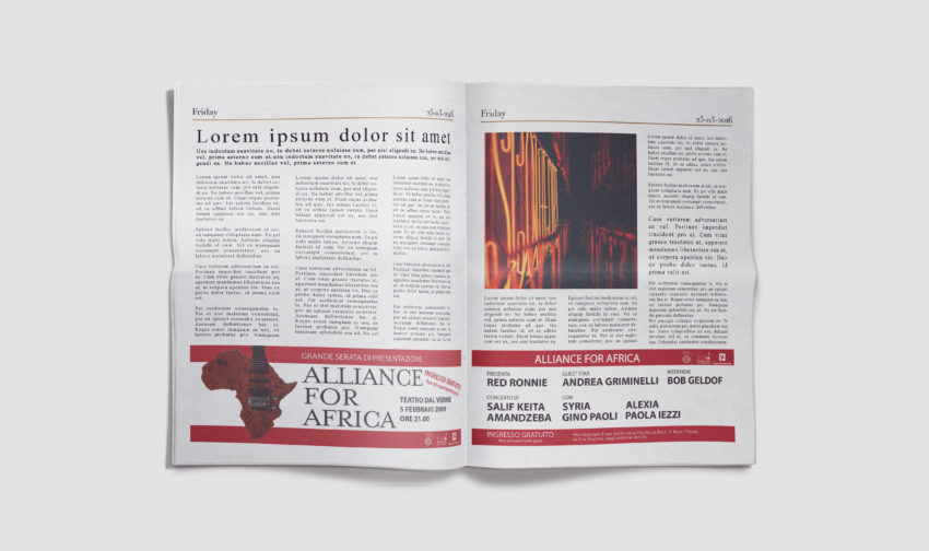 Pubblicità Corriere della Sera