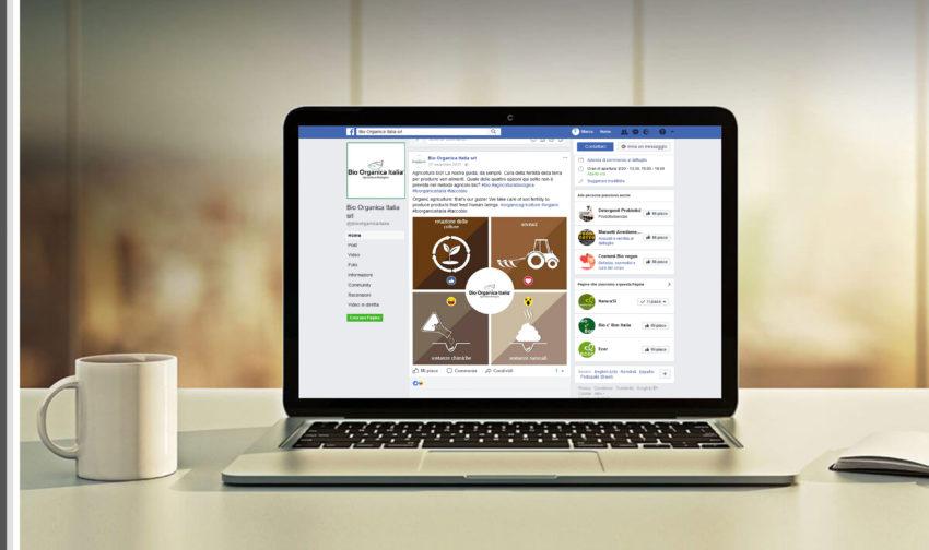 Grafiche per facebook e social network