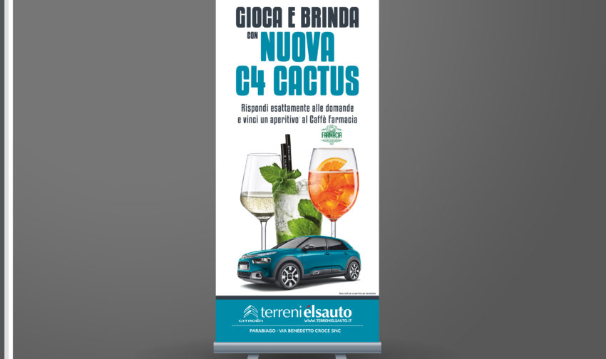 ROLL UP_EVENTO C4 NUOVA CACTUS